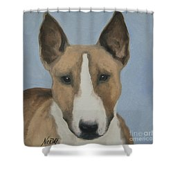 Sweet Bully Face Shower Curtain