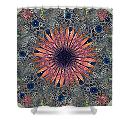 Sweet Daisy Chain Shower Curtain by Jim Pavelle