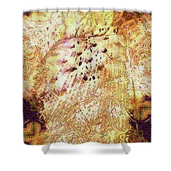 Sweet Dreams Shower Curtain by Claire Bull
