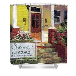 Sweet Dreams Shower Curtain by Julie Maas