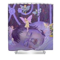 Sweet Dreams Shower Curtain by William Ireland