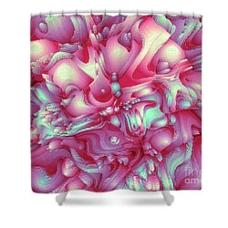 Sweet Flowers 2 Shower Curtain