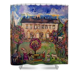 Sweet Georgian Revisited  Shower Curtain