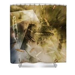 Sweet Grass Shower Curtain by Elaine Hunter