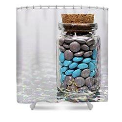 Sweet Happy Pills Shower Curtain