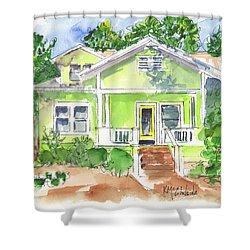 Sweet Lemon Inn Shower Curtain