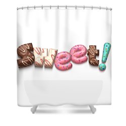 Shower Curtain featuring the digital art Sweet  by Mary Machare