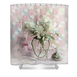 Sweet Memories Of Four Generations Shower Curtain
