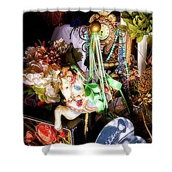 Sweet Montage Shower Curtain