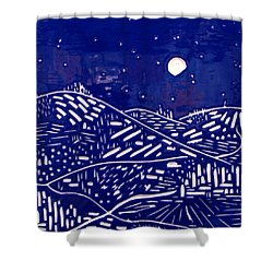 Sweet Night Shower Curtain by Jason Messinger