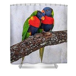 Sweet Pair Shower Curtain