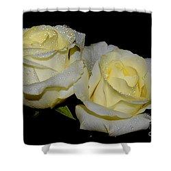 Friendship Roses Shower Curtain
