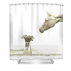 Sweet Scent Of Days Gone By Shower Curtain