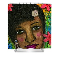 Sweet Sistah Girl Shower Curtain