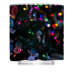 Sweet Sparkly Shower Curtain