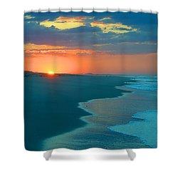 Sweet Sunrise Shower Curtain