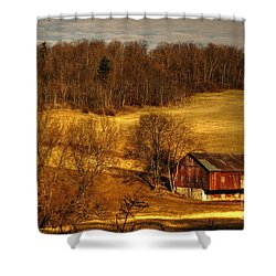 Sweet Sweet Surrender Shower Curtain by Lois Bryan