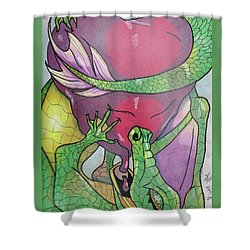 Sweetheart Shower Curtain by Loretta Nash