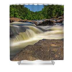 Sweetwater Creek Long Exposure 2 Shower Curtain