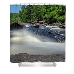 Sweetwater Creek Long Exposure Shower Curtain