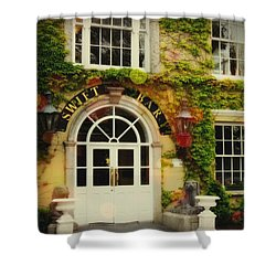 Swift Bar In Dublin Ireland Shower Curtain