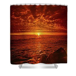 Shower Curtain featuring the photograph Swiftly Flow The Days by Phil Koch