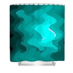 Swing Shower Curtain by S Art