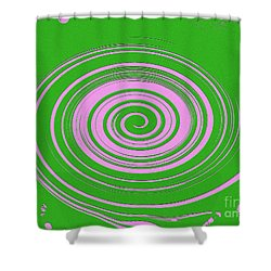 Swirl Abstract 2 Shower Curtain