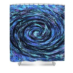 Swirl Abstract 5 Shower Curtain