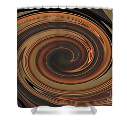 Swirl Abstract 7 Shower Curtain