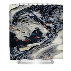 Swirling Current Shower Curtain