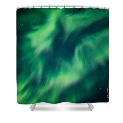 Swirls Of Light Shower Curtain