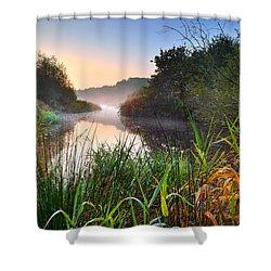 Swiss Valley Reservoir Shower Curtain