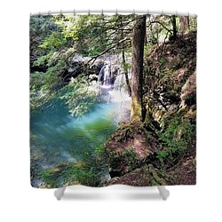 Sycamore Falls Shower Curtain
