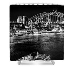 Sydney - Circular Quay Shower Curtain