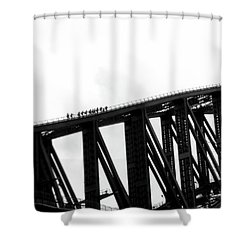 Sydney Harbour Bridge Shower Curtain