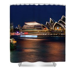 Sydney Night Life Shower Curtain