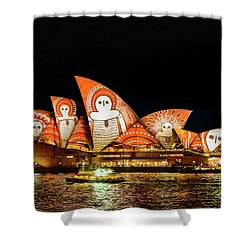 Ochre On Opera Shower Curtain