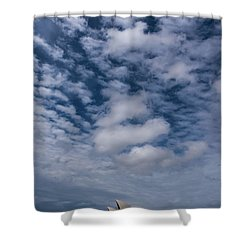 Sydney Opera House And Cloudscape Shower Curtain