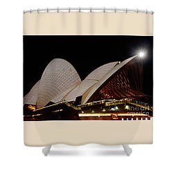 Shower Curtain featuring the photograph Sydney Opera House Close View 2 By Kaye Menner by Kaye Menner
