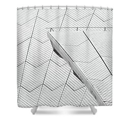 Sydney Opera House Roof No. 10-1 Shower Curtain