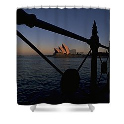 Shower Curtain featuring the photograph Sydney Opera House by Travel Pics