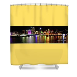 Sydney Skyline By Kaye Menner Shower Curtain by Kaye Menner