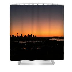 Sydney Skyline Shower Curtain
