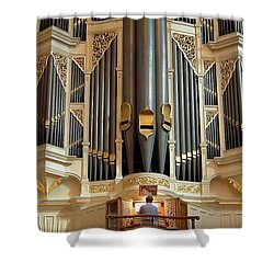 Sydney Town Hall Organ Shower Curtain