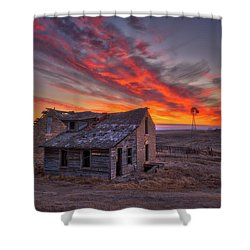 Shower Curtain featuring the photograph Sylvan Grove Sunrise by Darren White