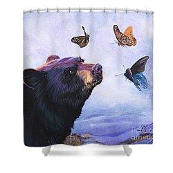 Symbiosis Shower Curtain