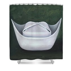 Shower Curtain featuring the painting Symbol Of A Proud Profession II by Marlyn Boyd