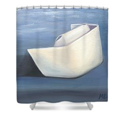 Shower Curtain featuring the painting Symbol Of A Proud Profession IIi by Marlyn Boyd