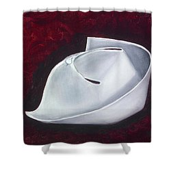 Shower Curtain featuring the painting Symbol Of A Proud Profession  by Marlyn Boyd